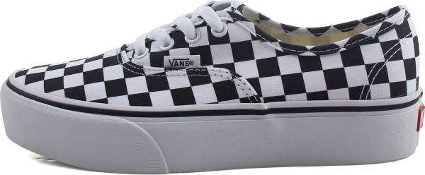 Vans Checkerboard Authentic Platform 2.0 Grey