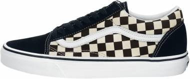 Vans Primary Check Old Skool - Grey