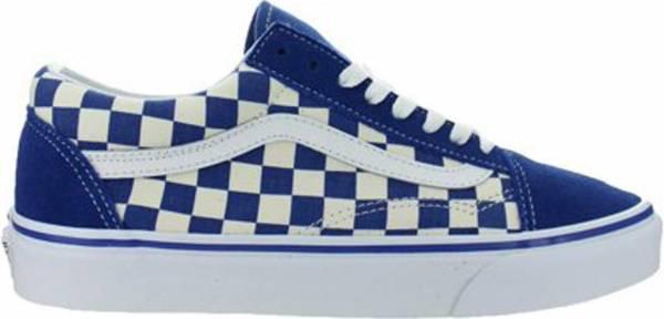Vans Primary Check Old Skool Blue