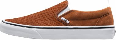 Vans Embossed Suede Slip-On - Brown (VN0A38F7U7G)