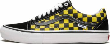 Vans Checkerboard Old Skool Pro - Golden (VN0A45JCVG21)