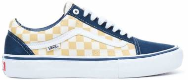 Vans Checkerboard Old Skool Pro - dress blues/ochre