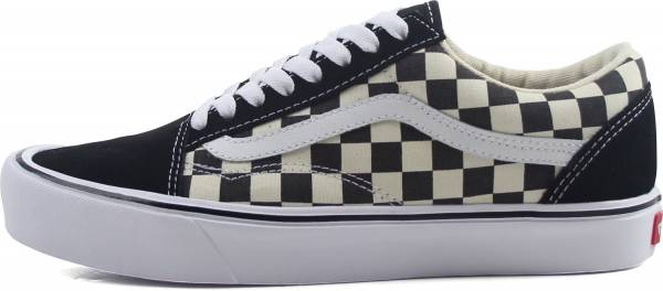 vans old skool black and white checkerboard