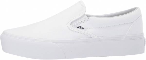 Vans Slip-On Platform - True White