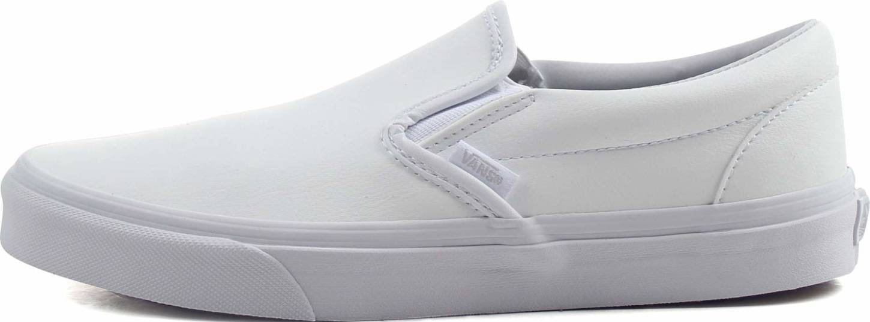 Vans Classic Tumble Slip On Sneakers In Black Only 55 Runrepeat