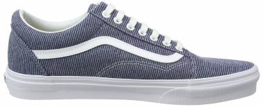 Vans Jersey Old Skool Blue ((Jersey) Blue/True White Q8u) Men