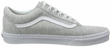Vans Jersey Old Skool Grey ((Jersey) Gray/True White I1f) Men