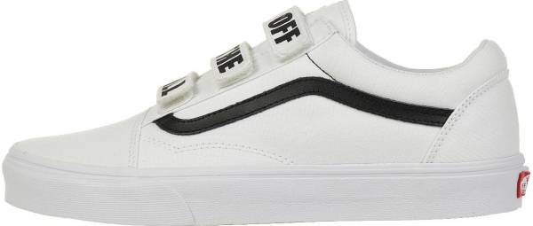 "Vans Old Skool V - ""Off the Wall"" True White/Black"