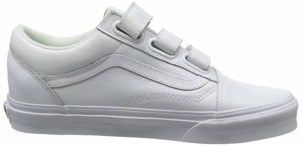 vans old skool white review