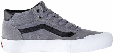 d585f8cf56f37b Vans Style 112 Mid Pro Frost Grey Whie Men
