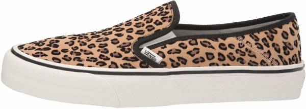 Vans Slip-On SF - (MINI LEOPARD) SUEDE/MARSHMALL (VN0A3MVDXMK)