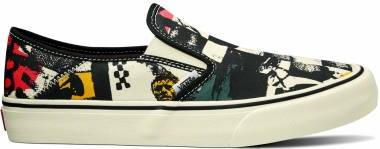 Vans Slip-On SF - (V66 Vine) Black/Antique White (VN0A3MVD25O)