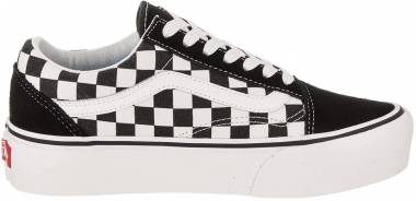 Vans Checkerboard Old Skool Platform - Black