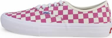 Vans Checkerboard Authentic Pro Pink Men