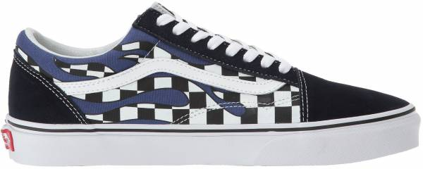 Vans Checker Flame Old Skool Grey