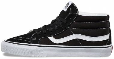 Vans Retro Sport SK8-Mid Reissue - Black Black True White 6bt (VA391F6BT)