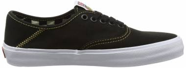 Vans Authentic Surf - Schwarz (Black/Spruce Yellow)