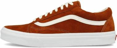 Vans Pig Suede Old Skool Orange Men