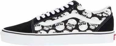 Vans Skulls Old Skool - Glow Skulls Black White (VN0A5AO95C2)