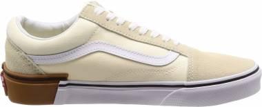 Vans Gum Block Old Skool - Classic White
