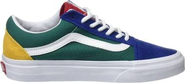 Vans Yacht Club Old Skool - Multicolour Vans Blue Yacht Club Blue Green Yellow R1q