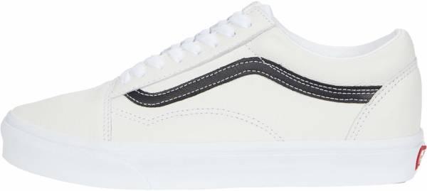 Vans Leather Old Skool - White/Black (VN0A5AO92HM)
