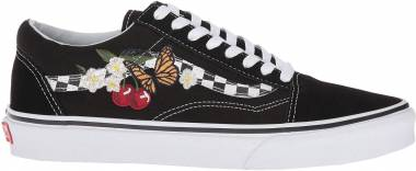 Vans Checker Floral Old Skool - Black
