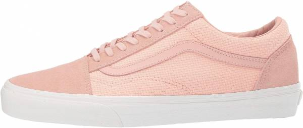 Vans Woven Check Old Skool Pink