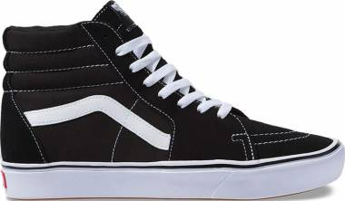 Vans ComfyCush SK8-Hi - Black / True White (VN0A3WMBVNE)