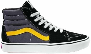 Vans ComfyCush SK8-Hi - (Tri-Tone) Black/Asphalt/Lemon Chrome (VN0A3WMB1PW)