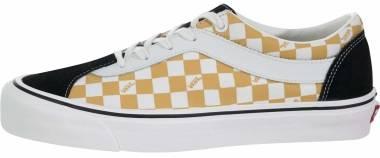 Vans Checkerboard Bold Ni - Black / Orange Mojito