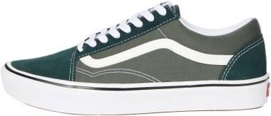 Vans ComfyCush Old Skool - Green (VN0A5DYC9KE)