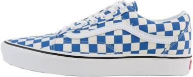 Vans ComfyCush Checker Old Skool - Blue (VN0A3WMAVNA)