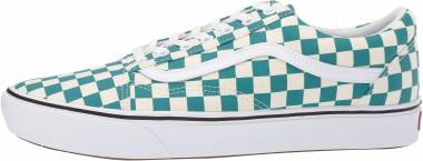 Vans ComfyCush Checker Old Skool - Quetzal / True White