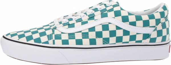 Vans ComfyCush Checker Old Skool - (Checker) Quetzal/True White