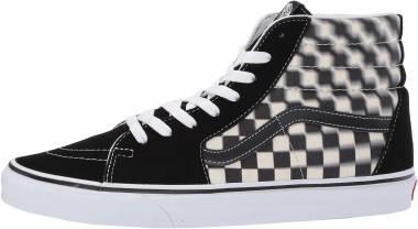 Vans Blur Check SK8-Hi - Black (VN0A38GEVJM)