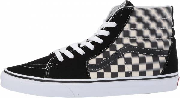 Vans Blur Check SK8-Hi - Black/Classic White