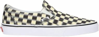 Vans Blur Check Slip-On - Black (VN0A38F7VJM)