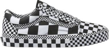 Vans All Over Checkerboard Old Skool - Black WHITE (VN0A4BV5V8U)