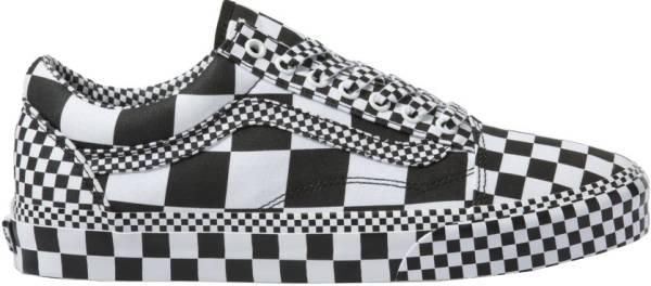 Vans All Over Checkerboard Old Skool Black/True White