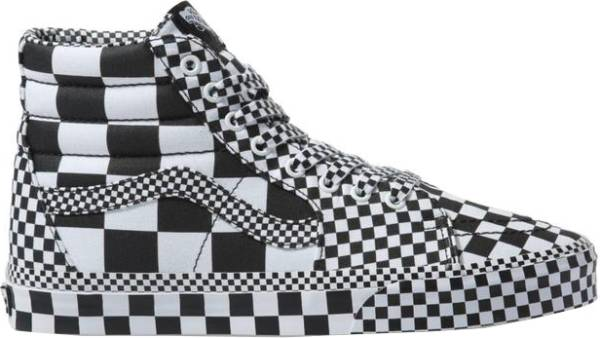 Vans All Over Checkerboard SK8-Hi - White
