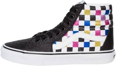 Vans Glitter Checkerboard SK8-Hi - Black / True White