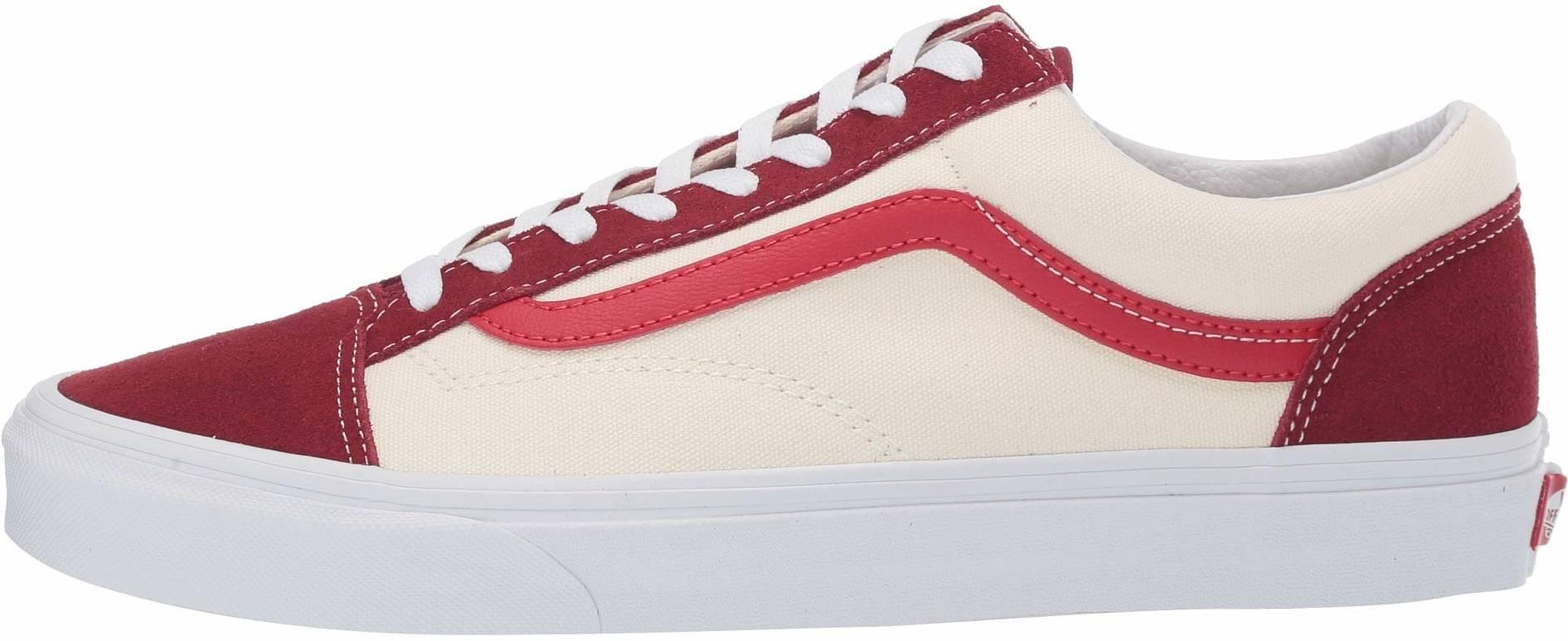 Vans Retro Sport Style 36 sneakers in red orange (only $44 ...