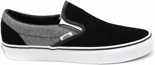 Vans Suede Slip-On - Suiting Black