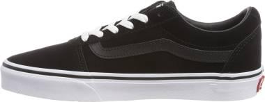 Vans Ward - Black Suede Black White 0xt (VA3IUN0XT)