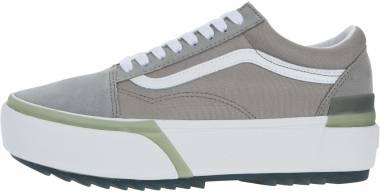 Vans Old Skool Stacked - Gray (VN0A4U154TI)