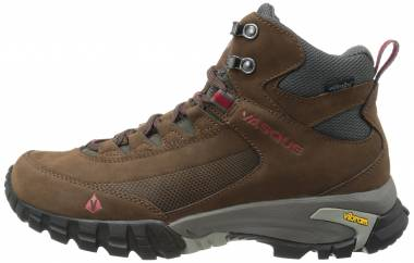 Vasque Talus Trek UltraDry - Slate Brown/Chili Pepper