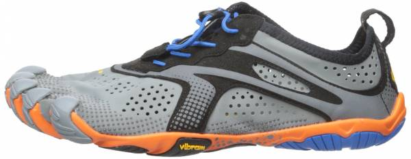 outlet store f187b 982a7 Vibram FiveFingers V-Run Gris - Grey (Grey Blue Orange)