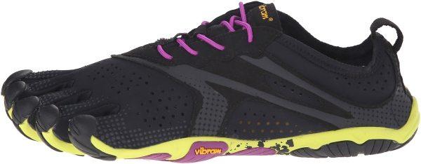 Vibram FiveFingers V-Run woman mehrfarbig (black/yellow/purple)