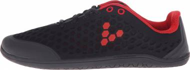 Vivobarefoot Stealth II - Black Red